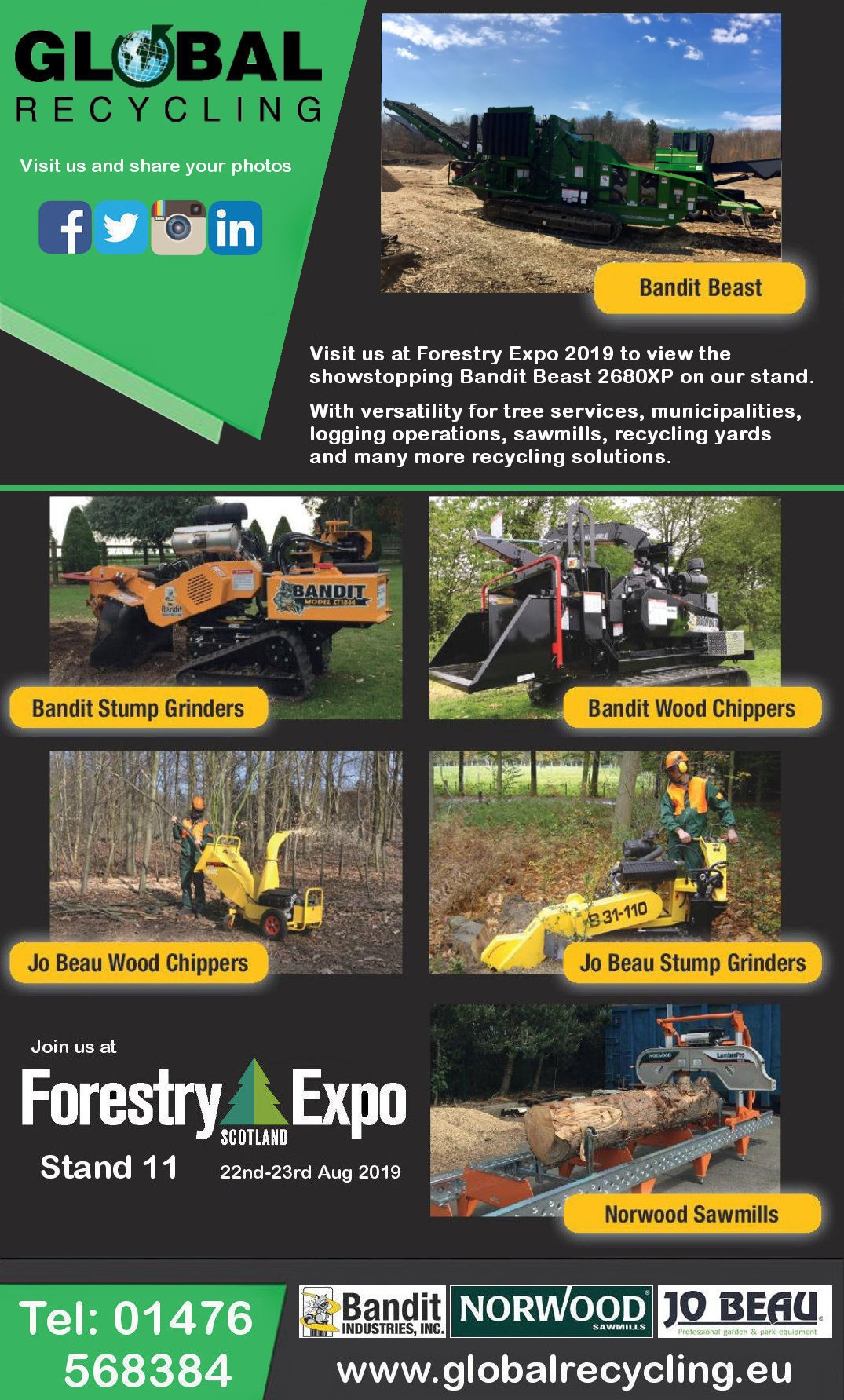 Forestry Expo 2019 and The Beast 2680