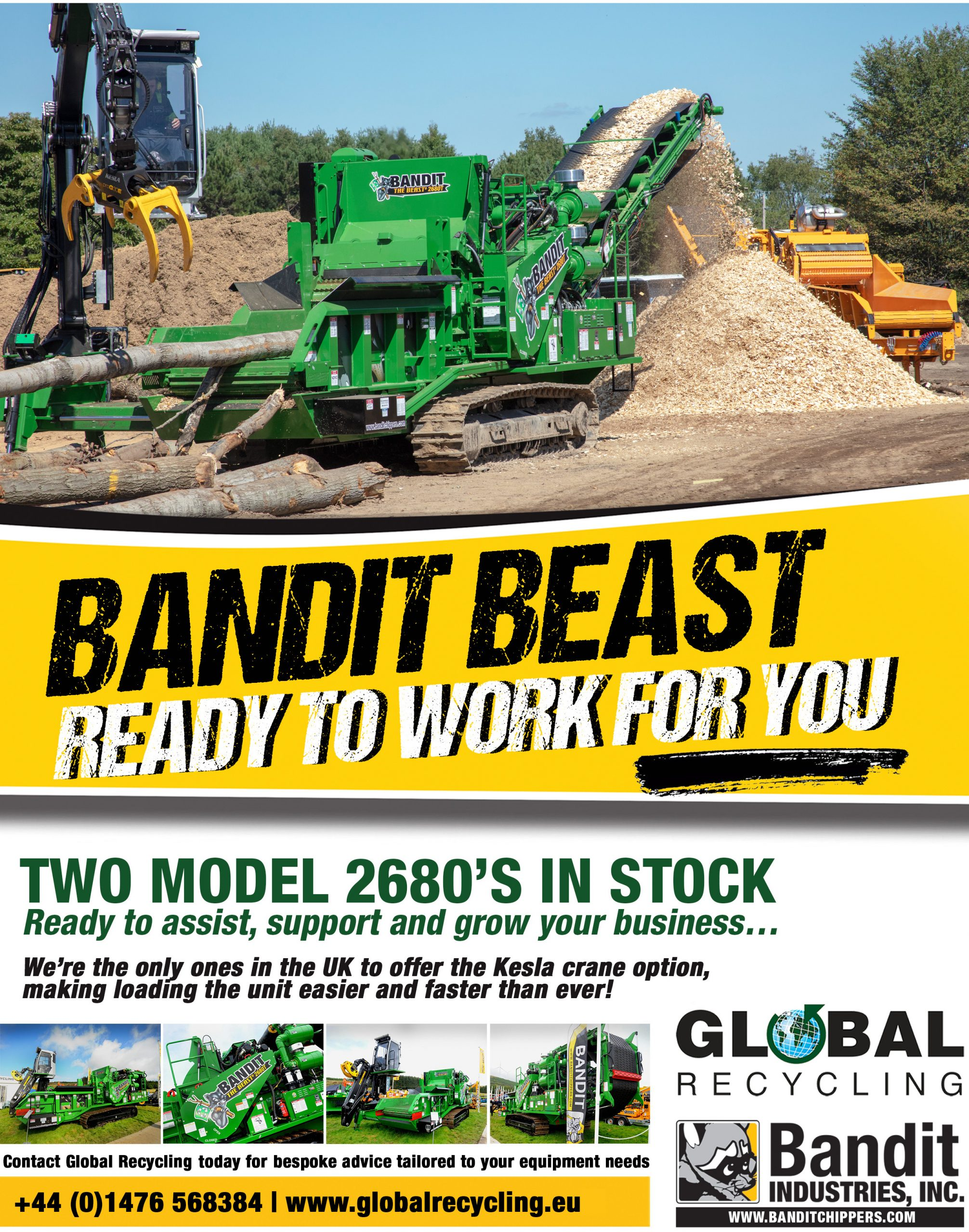 Bandit Beast – ready to work for YOU!