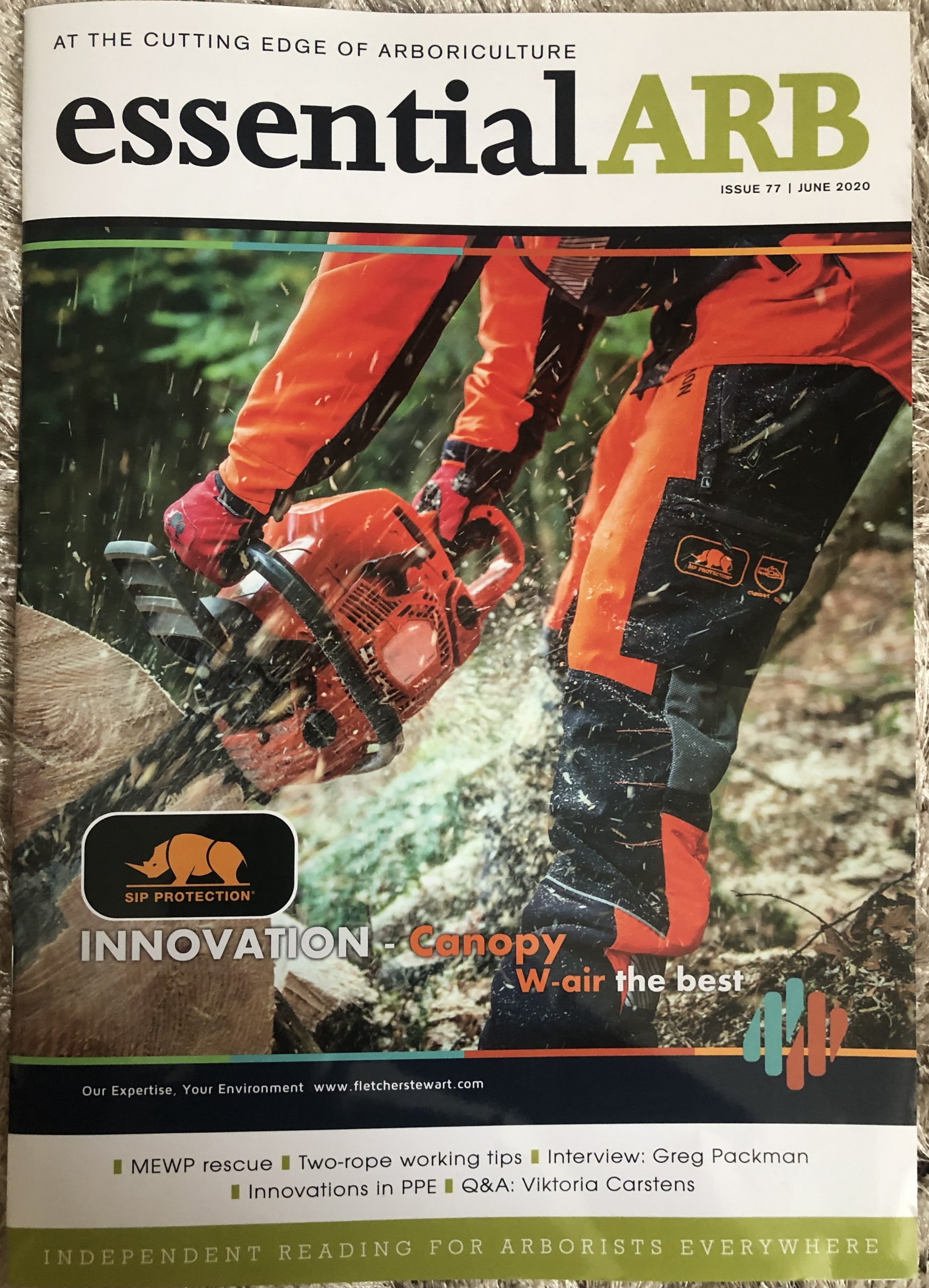 essentialARB – June 2020 issue, Frontier Sawmills and Bandit